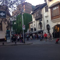 Photo taken at Barrio Lastarria by Coni C. on 11/5/2016