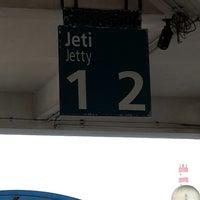 Photo taken at Berjaya Waterfront Ferry Terminal by Marlin J. on 7/9/2013