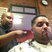 Photo taken at Against The Grain Barber Shop by Ricardo Q. on 10/4/2012