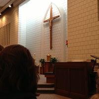 Photo taken at St. Andrew Catholic Church by Melody K. on 2/13/2013