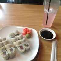 Photo taken at Tsunami Japanese Steakhouse and Sushi Bar by Thiago A. on 10/2/2012