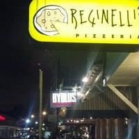 Photo taken at Reginelli's Pizzeria by Matthew P. on 4/17/2013