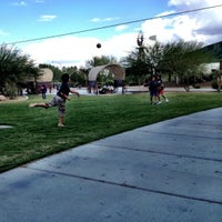 Photo taken at Western Trails Neighborhood Park by Kiki F. on 10/12/2012