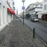Photo taken at Laugavegurinn, göngugata by Steini glimmer Þ. on 4/23/2013