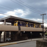 Photo taken at Walnut PRT Station by Clayton on 5/18/2013