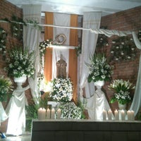 Photo taken at Parroquia Nuestra Señora del Carmen by Víctor A. on 3/25/2016