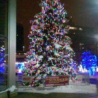 Photo taken at Rosa Parks Circle by Katie D. on 11/21/2014