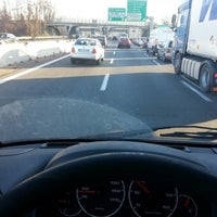 Photo taken at A4 - Barriera «Milano Ghisolfa» by Pietro G. on 12/12/2012