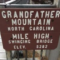 Photo taken at Grandfather Mountain by Rachel M. on 11/25/2012