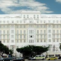 Photo taken at Belmond Copacabana Palace by Anton v. on 3/25/2013