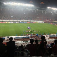 Photo taken at Tianhe Sports Center by fucking on 5/1/2013