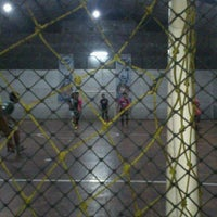 Photo taken at Arena Futsal by Febby P. on 5/13/2013