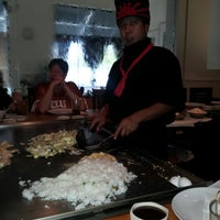 Photo taken at Kenji Hibachi & Sushi Bar by Sandy R. on 10/6/2012