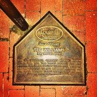 Photo taken at Louisville Slugger Museum & Factory by Matthew G. on 5/9/2013