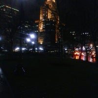 Photo taken at Kennedy Plaza Bus Terminal by Nathan P. on 12/10/2012