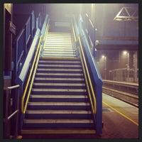 Photo taken at Alexandra Palace Railway Station (AAP) by Vanessa B. on 9/24/2013