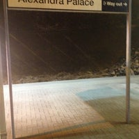 Photo taken at Alexandra Palace Railway Station (AAP) by Vanessa B. on 2/10/2013