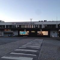 Photo taken at Kristiansand Lufthavn, Kjevik (KRS) by Tommy H. on 6/9/2013