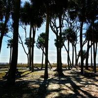 Photo taken at Hunting Island Beach by Lori B. on 9/28/2013
