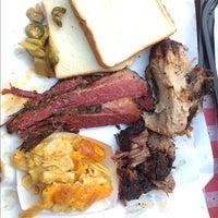 Photo taken at John Brown Smokehouse by Rev C. on 9/21/2012