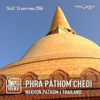 Photo taken at Phra Pathom Chedi by Thanaphon M. on 1/14/2013