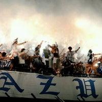 Photo taken at Estádio Aderbal Ramos da Silva (Ressacada) by Amanda P. on 10/19/2012