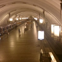 Photo taken at metro Ligovsky Prospekt by pavel i. on 7/24/2013