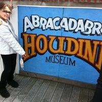 Photo taken at Houdini Museum, Tour & Magic by Richard N. on 3/24/2013