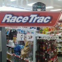 Photo taken at Race Trac by Kellie H. on 10/18/2012