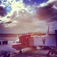 Photo taken at Terminal 8 by Beth on 9/20/2012