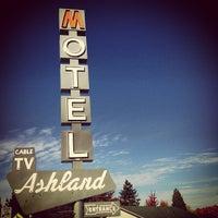 Photo taken at Ashland Motel by Adam W. on 10/29/2012