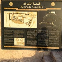 Photo taken at Karak Castle قلعة الكرك by hAnIkAz R. on 10/19/2012