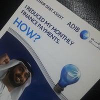 Photo taken at Abu Dhabi Islamic Bank by Nanda D. on 4/1/2013