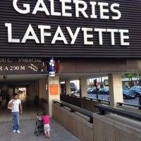 Photo taken at Galeries Lafayette Montparnasse by Pedro C. on 8/11/2013