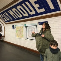 Photo taken at Métro Guy Moquet [13] by Pedro C. on 4/11/2016