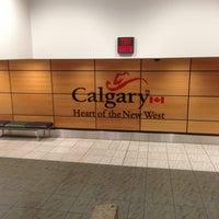 Photo taken at Calgary International Airport (YYC) by Beto M. on 2/24/2013
