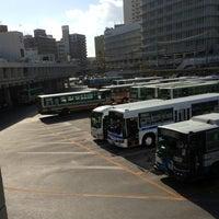Photo taken at 那覇バスターミナル by kazuhiko s. on 10/27/2012