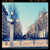 Photo taken at Corso Sempione by Tram M. on 3/17/2013