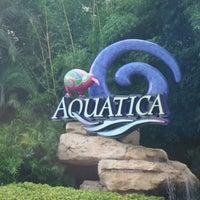 Photo taken at Aquatica Orlando by Diego Maximiliano F. on 9/15/2012