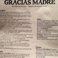 Photo taken at Gracias Madre by Matthew H. on 11/5/2012