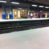 Photo taken at Brussels-Schuman Railway Station by Kevin M. on 12/12/2012