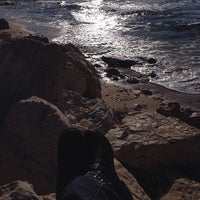 Photo taken at Plage De Carro by Vanessa on 1/14/2014