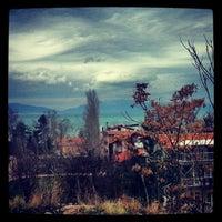 Photo taken at Eğirdir by Deniz B. on 1/11/2013