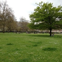Photo taken at Grosvenor Square by Adam N. on 5/5/2013