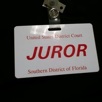 Photo taken at Paul Rogers Federal Courthouse by Doug M. on 3/13/2014