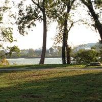 Photo taken at Riverside Park by Ana J. on 10/21/2012