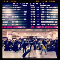 Photo taken at New York Penn Station by Anthony S. on 4/24/2013