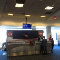 Photo taken at Gate 47A by Kiera R. on 12/8/2013