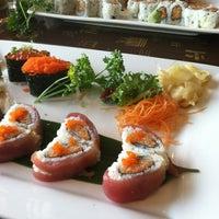 Photo taken at Wokano Japanese Steakhouse by Alicia on 5/22/2013