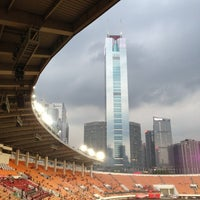 Photo taken at Tianhe Sports Center by Jian L. on 5/18/2013